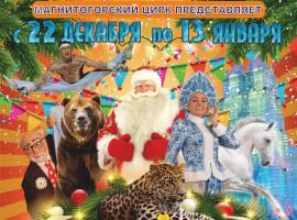 Цирк с 22 декабря по 13 января