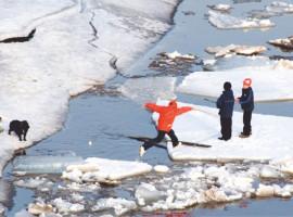 ОСТОРОЖНО! Начинается таяние льда!