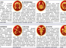 гороскоп с 24 по 30 июня
