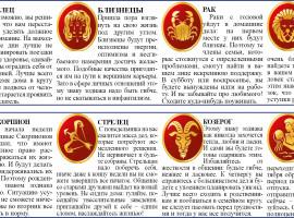 ГОРОСКОП С 14.10 ПО 20.10